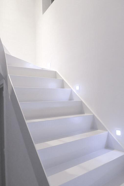 gesloten trappen