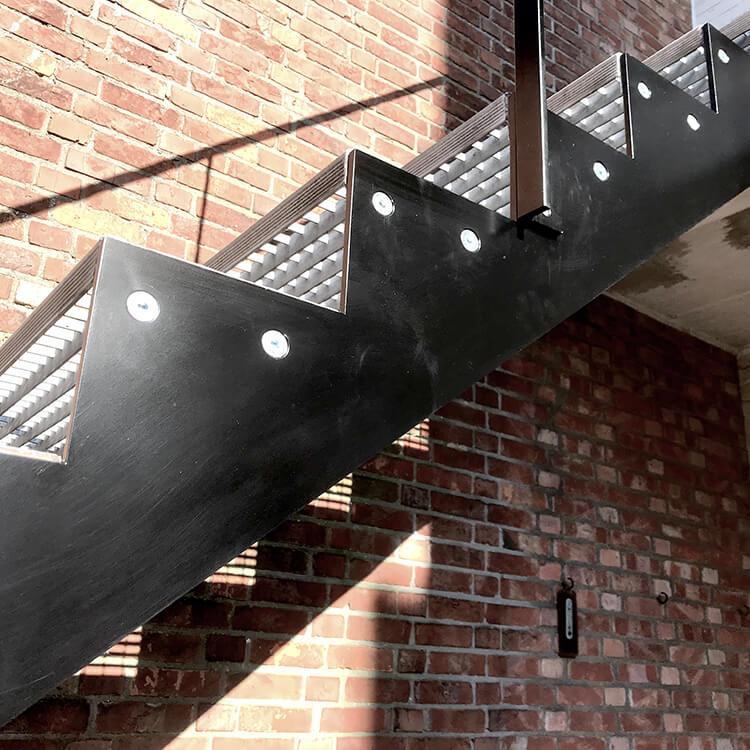rechte trappen