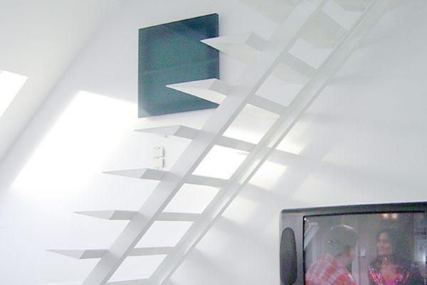 Open trappen