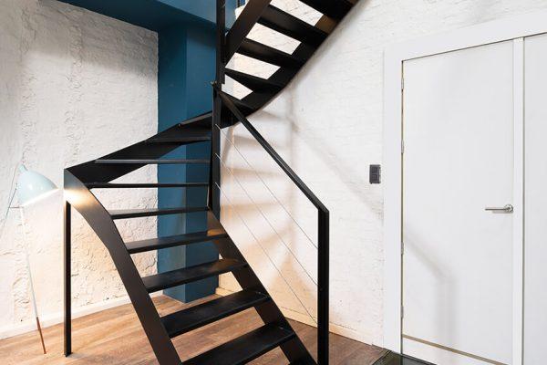 Dubbelkwart trappen